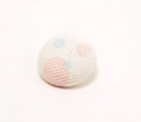 Pink & Blue Bubbles Button - Shinzi Katoh