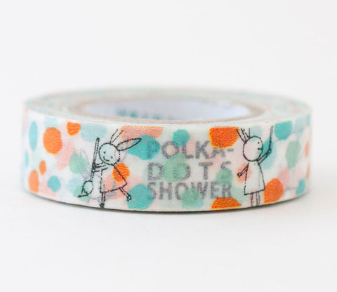 Polka Dot Shower Shinzi Katoh Washi Tape