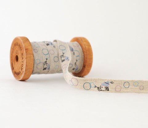 Puwawa Bubbles - Shinzi Katoh Linen Tape 12mm