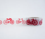 Red Bicycles Washi Tape
