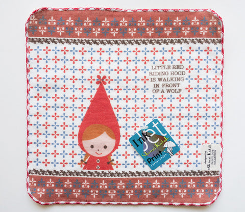 Little Red Riding Hood - Small Towel - Shinzi Katoh - Sugar Time - Zakka