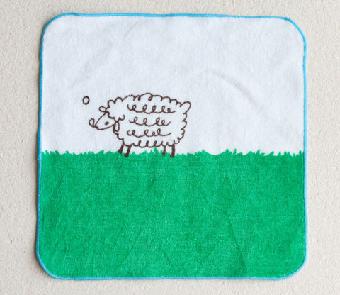 Sheep Small Towel - Shinzi Katoh
