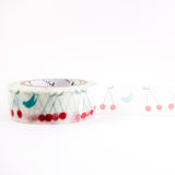 Bird and Cherry - Shinzi Katoh Japanese Washi Tape