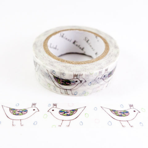 Bird Tiara - Shinzi Katoh Japanese Washi Tape