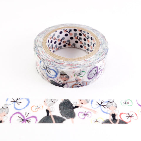 Ballet Butterfly - Shinzi Katoh Japanese Washi Tape