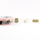 Cat Cat Cat - Shinzi Katoh Japanese Washi Tape