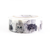 Chaton Chaton 1 (Cats) - Shinzi Katoh Japanese Washi Tape