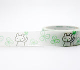 Find Happiness - Four Leaf Clover - Good Luck - Shinzi Katoh Japanese Washi Tape