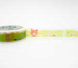Hide & Seek Animals - Shinzi Katoh Japanese Washi Tape