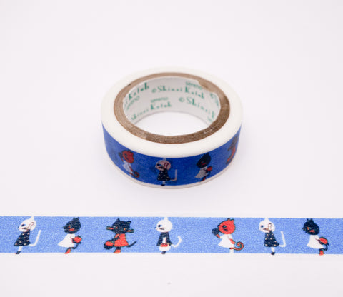 Little Cats - Shinzi Katoh Japanese Washi Tape