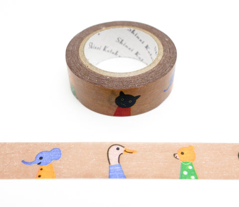 Nakayoshi - Good Friends - Shinzi Katoh Japanese Washi Tape