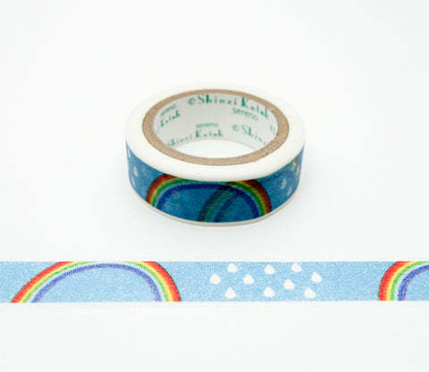 Rainbow - Shinzi Katoh Japanese Washi Tape