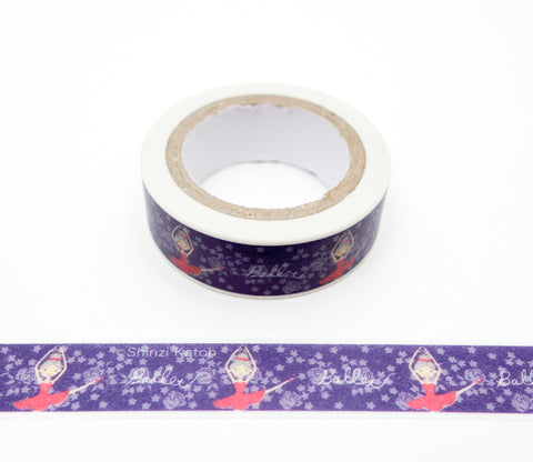 Ballet Recital - Shinzi Katoh Japanese Washi Tape