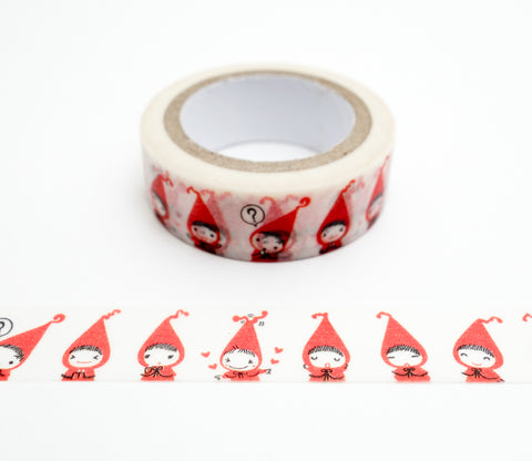 Little Red Riding Hood Pochon - Shinzi Katoh Japanese Washi Tape