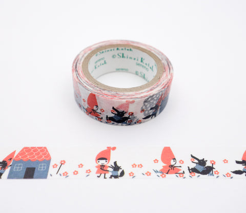 Little Red Riding Hood Ribbon - Shinzi Katoh Japanese Washi Tape