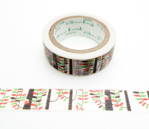 Squirrel in a Tree - Shinzi Katoh Japanese Washi Tape