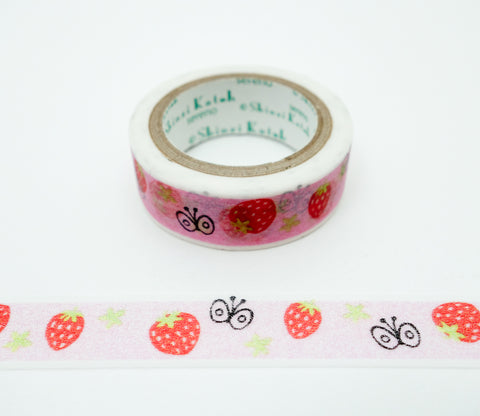 Strawberry Farm - Shinzi Katoh Japanese Washi Tape