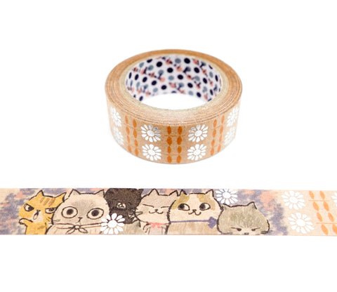 Sugar Cats - Shinzi Katoh Japanese Kraft Tape
