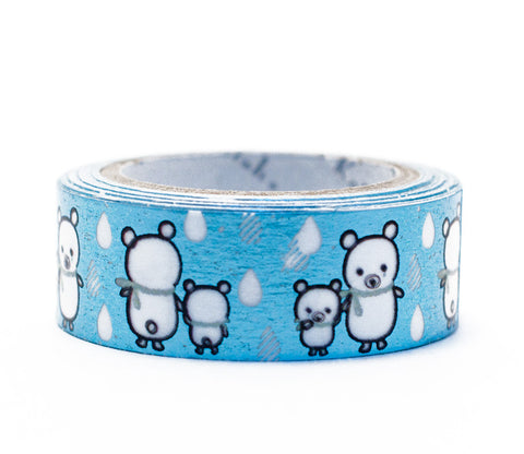 Sorabear - Shinzi Katoh Blue Foil Washi Tape