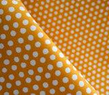 Spot On Orange - Juicy Canvas - Monaluna Organic Fabric