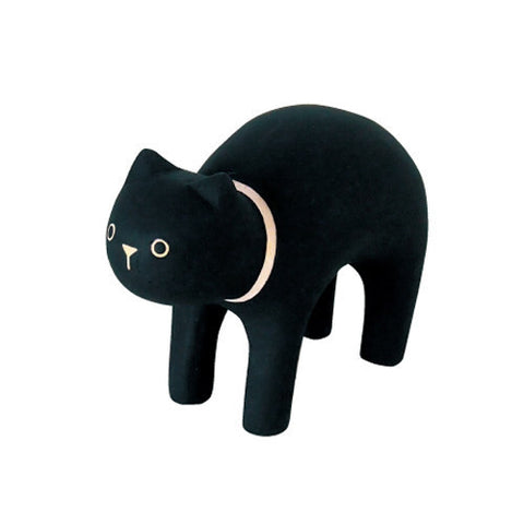 T-lab Pole Pole Wooden Animal - Black Cat