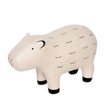 T-lab Pole Pole Wooden Animal - Capybara