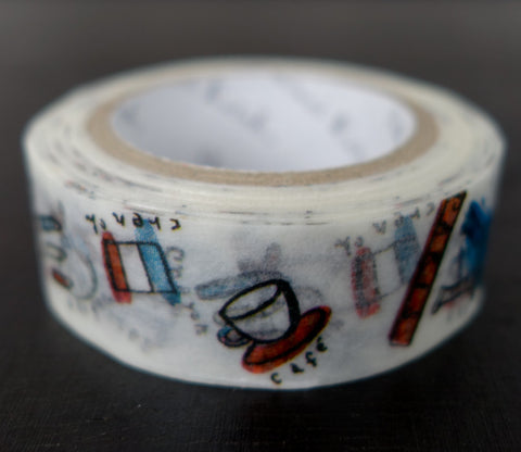 Paris Souvenirs - Travel - Shinzi Katoh Washi Tape