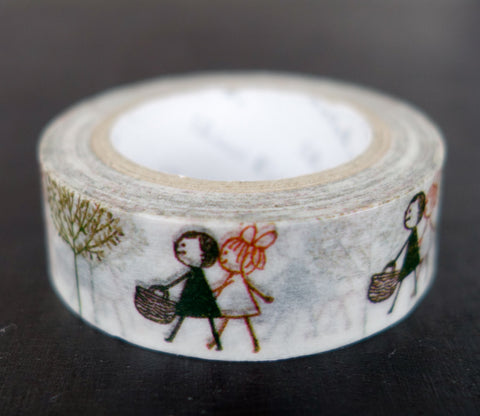 Nature Walk - Shinzi Katoh Washi Tape