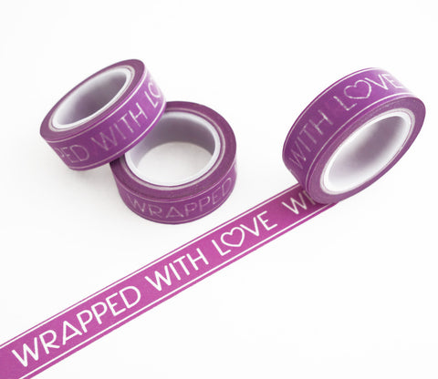 Wrapped With Love Washi Tape