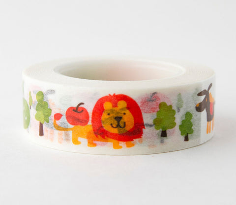 Zoo Washi Tape