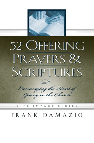 52 Offering Prayers & Scriptures