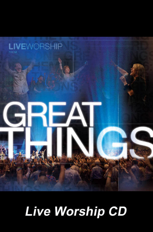 Great Things - Live Worship CD