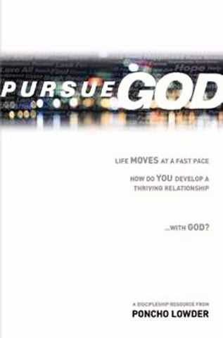 Pursue God