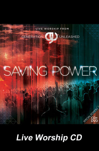 Saving Power - Live Worship CD