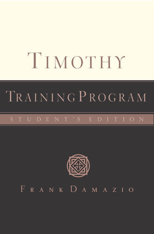 Timothy Training Manual