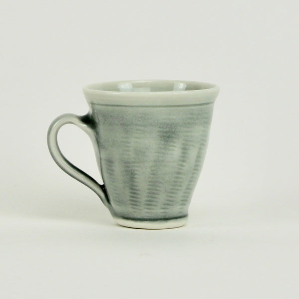 Straight sided mug - grey