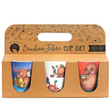 Kuwi Bamboo Cups set of 3