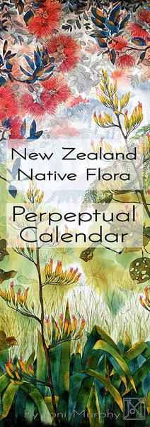 New Zealand Native Flora perpetual calendar