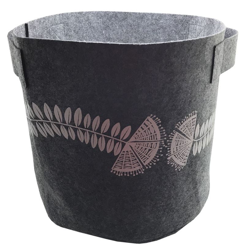 7 Gallon Felt Bag - Grey Pohutukawa