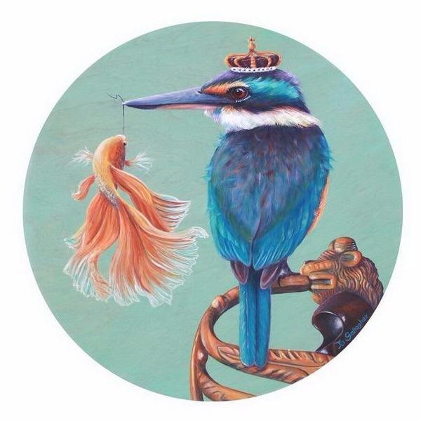 The Fantail and the King