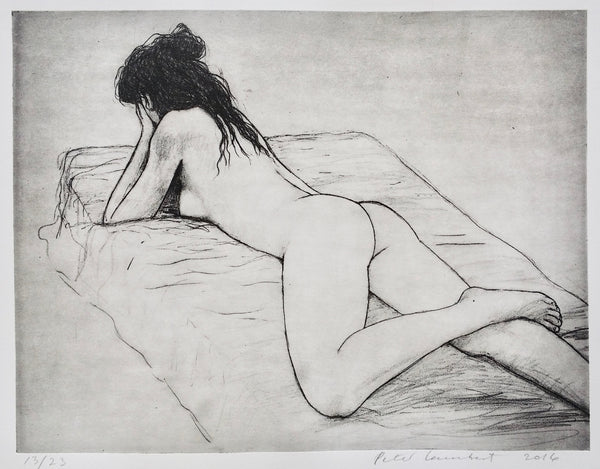 Untitled Nude Etching