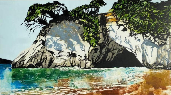Cathedral Cove #3 - 280mm x 500mm