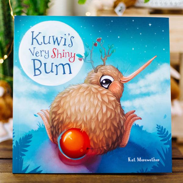 Kuwi's very shiny bum book