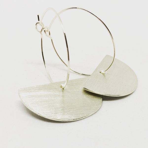 Keira earrings - silver