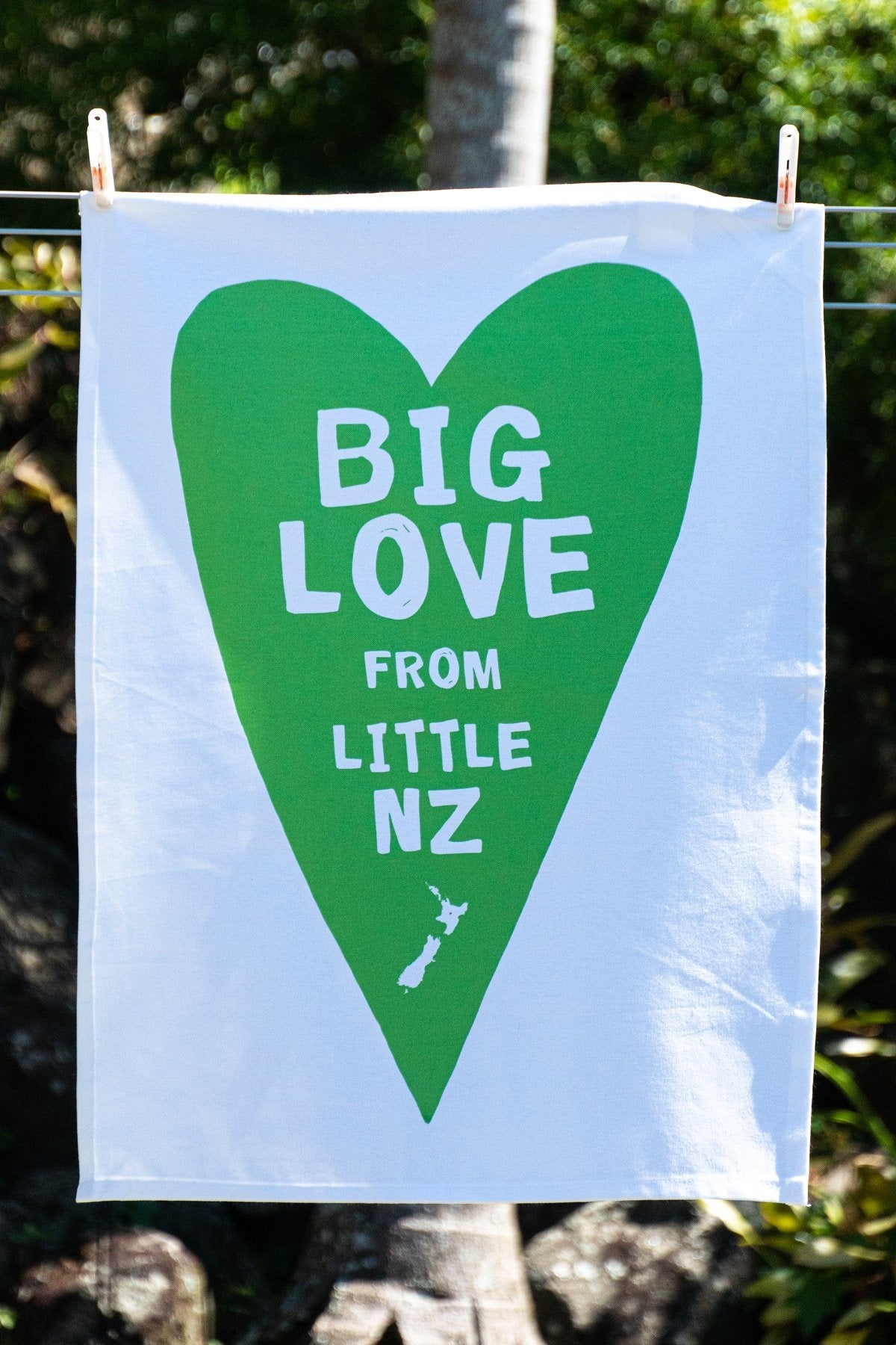 Teatowel - Big Love From little NZ