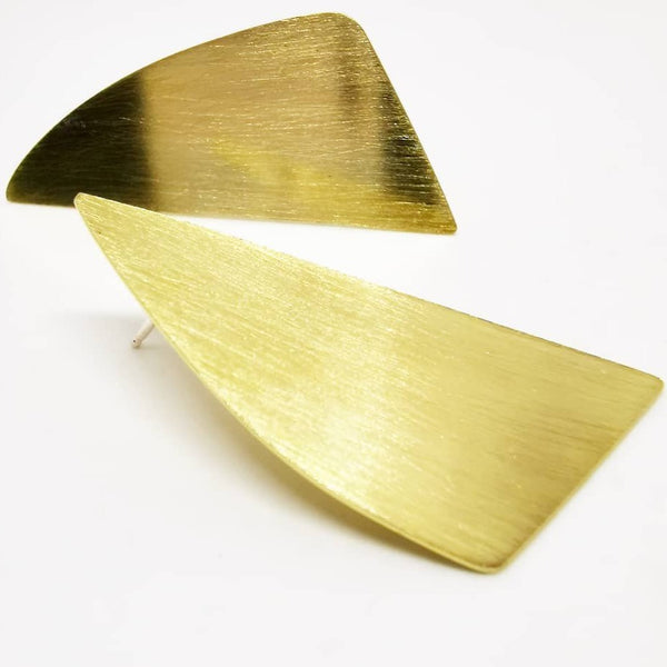Neotric earrings - brass