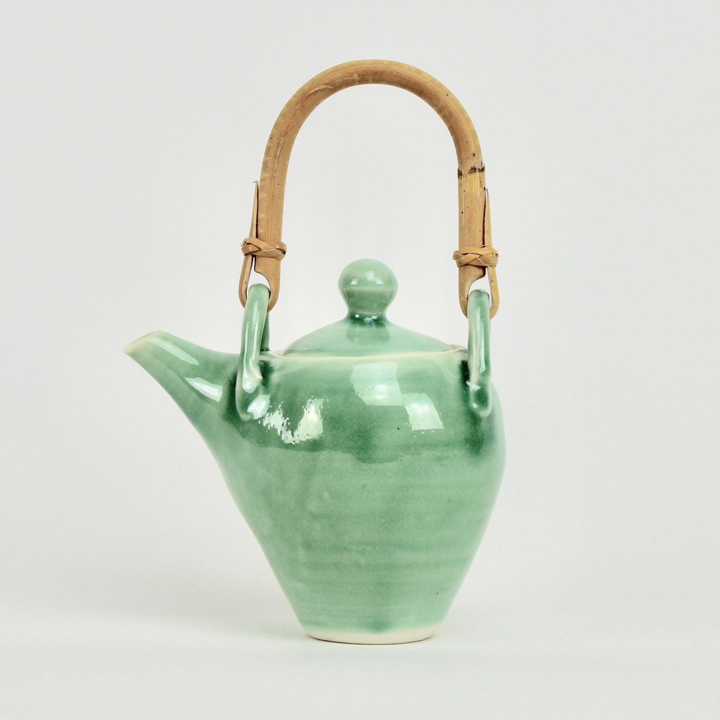 Cane handle teapot