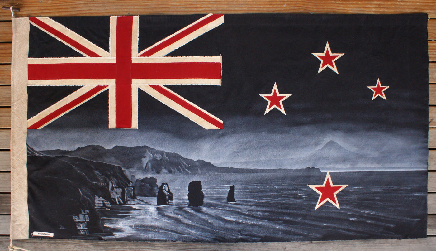 Black Three Sisters Flag