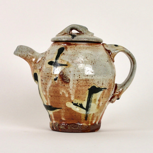 Teapot - crosses decoration