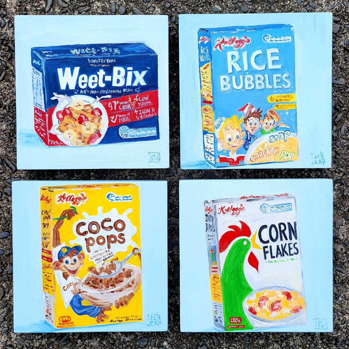 Pantry Cereals - set of four